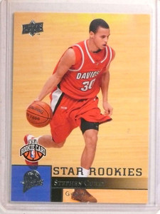 2009-10 Upper Deck Stephen Curry rc rookie #234 *72269