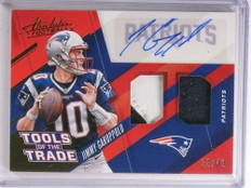2017 Absolute Tools Of Trade Jimmy Garoppolo autograph patch jersey /49 *72246
