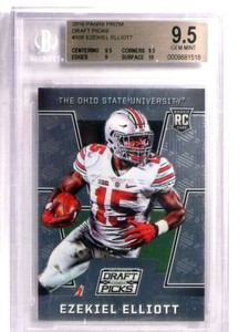 2016 Panini Prizm Draft Picks Ezekiel Elliott rc rookie #105 BGS 9.5 *72197