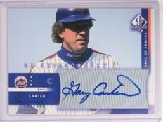 2003 Sp Authentic Chirography Gary Carter autograph auto #D168/350 #GC1 *72517