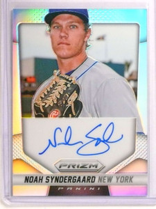 2014 Panini Prizm Refractor Noah Syndergaard autograph auto #NS *72565