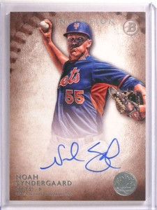 2015 Bowman Inception Noah Syndergaard autograph auto rc rookie #PA-NS *72579