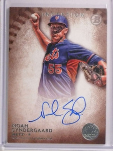 2015 Bowman Inception Noah Syndergaard autograph auto rc rookie #PA-NS *72585