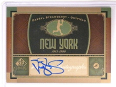 2012 Sp Signature Edition Darryl Strawberry autograph auto #NYM2 *72640