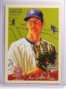 2008 Upper Deck Goudey Clayton Kershaw rc rookie #75 *72424