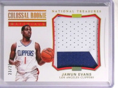 2017-18 National Treasures Colossal Rookie Jawun Evans patch #D23/25 *72386