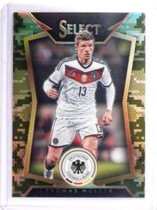 2015Select Soccer Thomas Muller Camo #D062/249 #39 *52584