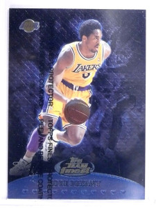 1999-00 Finest Team Finest Blue Kobe Bryant #D0668/1500 #TF18 *64257