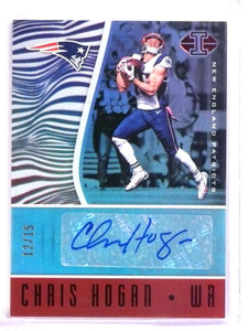 2017 Panini Illusions Chris Hogan autograph auto #D12/15 #VS-HO *72500