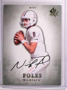 2012 Sp Authentic Nick Foles autograph auto rc rookie #118 *72504