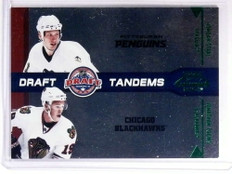 2010-11 Playoff Contenders Draft Tandems Jonathan Toews Staal #D50/50 *72435
