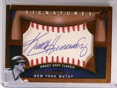 2005 Sweet Spot Signatures Keith Hernandez autograph auto #KH *72685
