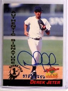 1994 Signature Rookies Derek Jeter autograph auto #D518/8650 #35 *72747