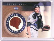 2003 Upper Deck Honor Roll Leather of Distinction Mike Piazza glove sp/25 *72709