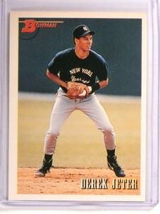 1993 Bowman Derek Jeter rc rookie #511 *72845