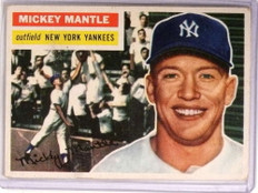 1956 Topps Mickey Mantle #135 GD-VG Yankees *72748
