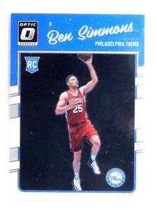 2016-17 Donruss Optic Ben Simmons rc rookie #151 *72817