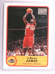 2003-04 Topps Bazooka Lebron James rc rookie #223 Away *72828