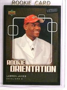 2003-04 Upper Deck Victory Lebron James rc rookie #101 *72858