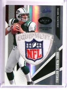 2009 Playoff Absolute Mark Sanchez NFL Logo Shield patch rc rookie #D1/5 *72766