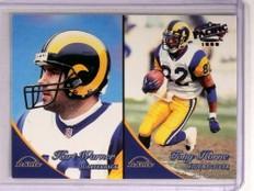 1999 Pacific Copper Parallel Kurt Warner rc rookie #D63/99 #343 *72821