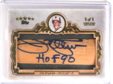 2013 Topps Five Star Bat Barrel Plate Jim Palmer autograph auto #D 1/1 *72979