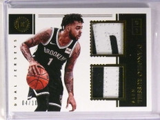 2017-18 Panini Encased D'Angelo Russell dual prime patch #D04/10  *72885