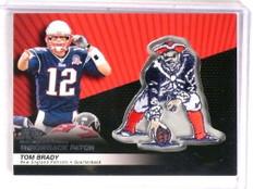 2010 Topps Throwback Patch Tom Brady #LPC-37 *72878