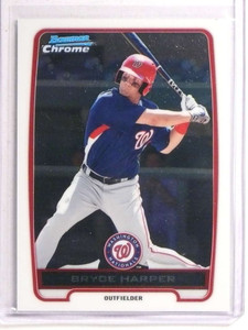 2012 Bowman Chrome Bryce Harper rc rookie #BCP10 *73372