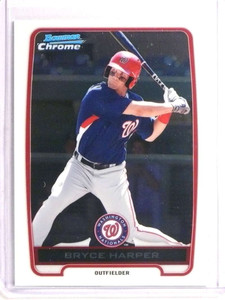 2012 Bowman Chrome Bryce Harper rc rookie #BCP10 *73381