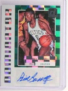 2017-18 Donruss Dominators Bill Russell autograph auto #D14/25 #DS-BRS *73042