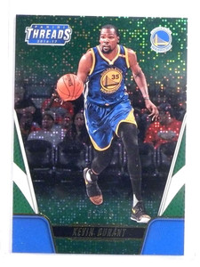 2016-17 Panini Threads Century Proof Dazzle Green Kevin Durant #D01/15 *73150