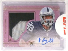 2015 Topps Diamond Amari Cooper autograph auto patch rc rookie #D02/10 *73047