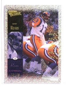 2000 Ultimate Victory 25 Parallel Kurt Warner #D23/25 #72 *73333