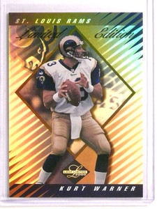 2000 Leaf Limited Edition Series Kurt Warner #D31/35 #196 Rams *73367