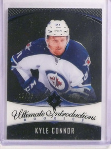 2016-17 Ultimate Collection Black Onyx Kyle Connor rc #D15/25 #84 *73272