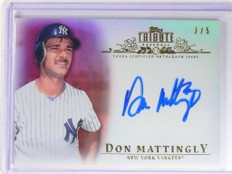 2013 Topps Tribute Red Don Mattingly autograph auto #D2/5 #TA-DMA *49290