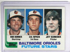 1982 Topps Cal Ripken Jr. rc rookie #21 *35099