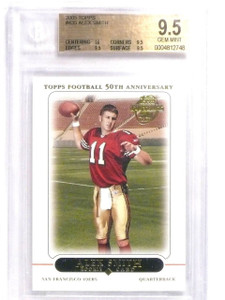 2005 Topps Alex Smith rc rookie #435 BGS 9.5 GEM MINT *63870