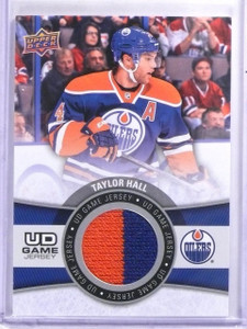 2015-16 Upper Deck Game Jerseys Taylor Hall Jersey #GJTH *59459