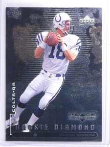 1998 Upper Deck Black Diamond Peyton Manning Rookie RC #91 *64226