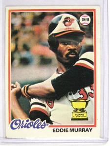1978 Topps Eddie Murray rc rookie #36 VG *27018