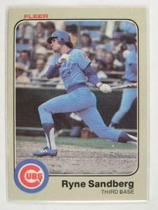 1983 Fleer Ryne Sandberg rc rookie #507 *23763