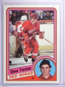 1984-85 Topps Steve Yzerman Rookie RC #49 *64162