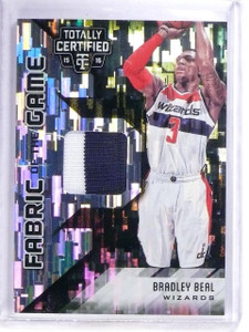 2015-16 Totally Certified Green Bradley Beal Patch #D05/25 #FGBB *64542