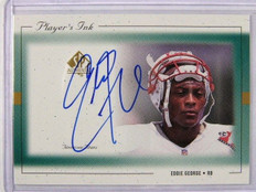 1999 Sp Authentic Player's Ink Eddie George auto autograph #EG-A *27659