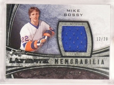 2015-16 Leaf Ultimate Memorabilia Mike Bossy jersey #D12/20 *53278