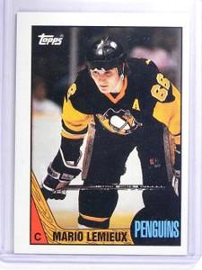 1987-88 Topps Mario Lemieux #15 *63342