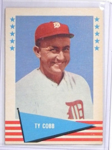 1961 Fleer Ty Cobb #14 EX *60686
