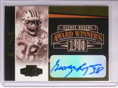 2005 Playoff Honors Award Winners George Rogers autograph #D91/300 #AW-8 *55777